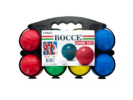 12 Units of Bocce Game Set - Dominoes & Chess