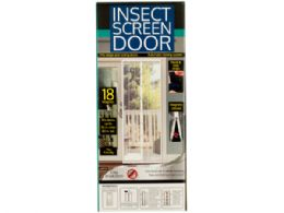 12 Units of Insect Screen Door With Magnetic Closure - Pest Control
