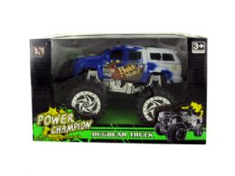 18 Units of Friction Big Wheel Super Power Truck - Cars, Planes, Trains & Bikes