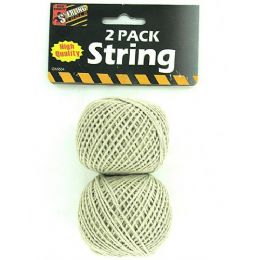 72 Units of 2 Pack AlL-Purpose String - Hardware Products