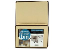 18 Units of Collapsible Storage Bin With Lid - Storage Holders and Organizers