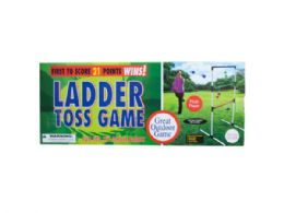 6 Units of Ladder Toss Game - Dominoes & Chess
