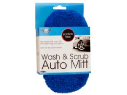 54 Units of Scratch Free Wash & Scrub Auto Sponge - Scouring Pads & Sponges