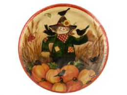 108 Units of Fall Friends Dinner Plates Set - Party Paper Goods