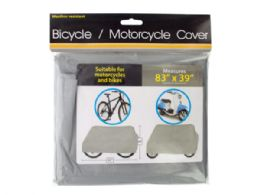 30 Units of Bulk Buys Brand Weather Resistant Bicycle & Motorcycle Cover - Auto Accessories