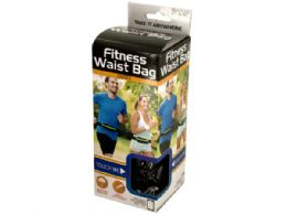 24 Units of Unisex Fitness Waist Bag - Workout Gear