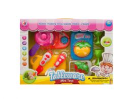 12 Units of Kids' Cooking Play Set - Girls Toys