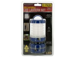 12 Units of Collapsible LED Lantern Set - Lamps and Lanterns