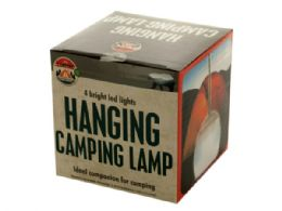 18 Units of Led Hanging Camping Lamp - Camping Gear