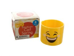 54 Units of Emoticon Coil Spring - Toy Sets