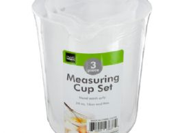 36 Units of Plastic Measuring Cup Set - Measuring Cups and Spoons