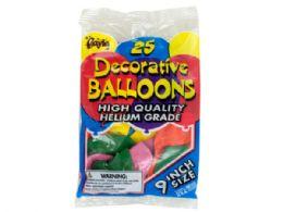 108 Units of Helium Grade Latex Balloons - Balloons/Balloon Holder