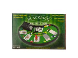 12 Units of Blackjack Mini Table Game - Dominoes & Chess