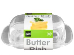 36 Units of Acrylic Butter Dish - Food Storage Containers