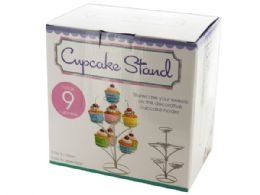 12 Units of Three Tier Cupcake Stand - Serving Trays