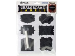 60 Units of Self-Adhesive Chalkboard Labels - Chalk,Chalkboards,Crayons