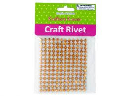 120 Units of Gold Craft Cone Studs - Craft Kits