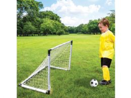 6 Units of 2 In 1 Soccer & Hockey Game Set - Dominoes & Chess