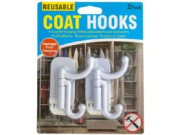 60 Units of Coat Hooks Set - Hooks