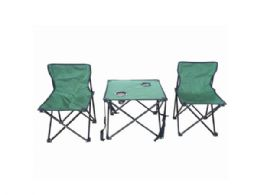 3 Units of Folding Portable Camping Set With Carry Bag - Camping Gear