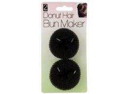 60 Units of Donut Hair Bun Maker Set - Hair Scrunchies