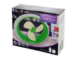 12 Units of USB Personal Desk Fan - Electric Fans