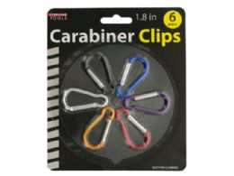 60 Units of Carabiner Clips Set - Clips and Fasteners