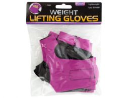 30 Units of Women's Weight Lifting Gloves - Workout Gear
