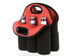12 Units of Six Pack Protective Bottle Carrier - Lunch Bags & Accessories