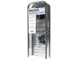 6 Units of 3-Tier Medium Rolling Kitchen Cart