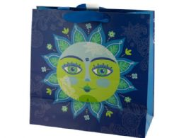 120 Units of Decorative Sun Large Square Gift Bag - Gift Bags