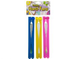 72 Units of Folding Hand Fans Set - Coasters & Trivets