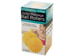 18 Units of Spiky Massage Ball Rollers Set - Personal Care Items