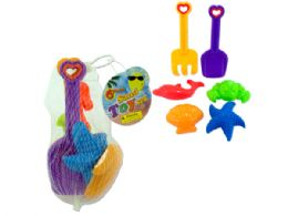 72 Units of Colorful Sand Toy Set - Beach Toys