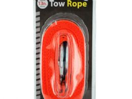 12 Units of Nylon Tow Rope with Metal Hooks - Hooks
