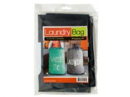 18 Units of Large Printed Drawstring Laundry Bag - Laundry  Supplies