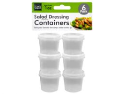 72 Units of 1 oz. Salad Dressing Containers Set - Storage Holders and Organizers