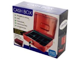 3 Units of Multi-Compartment Steel Locking Cash Box - Storage Holders and Organizers