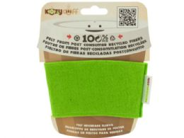96 Units of Lime Kozy Cuff Felt Beverage Sleeve - Cooler & Lunch Bags