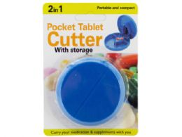 54 Units of 2 in 1 Pocket Tablet Cutter with Storage - Pill Boxes and Accesories