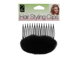 60 Units of Volumizing Hair Styling Comb Accessory - Hair Scrunchies
