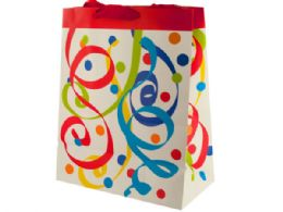 120 Units of Party Streamers Large Gift Bag - Party Favors