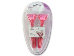 72 Units of Ladies Disposable Razor Set - Personal Care Items