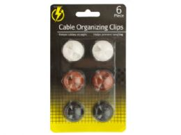 54 Units of Cable Organizing Clips - Cables and Wires