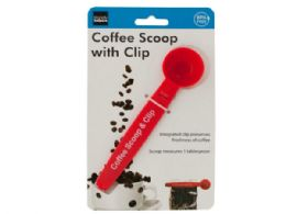48 Units of Coffee Scoop With Bag Clip - Kitchen Utensils