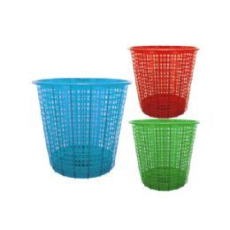 54 Units of Plastic Mesh Trash Can - Hardware Products