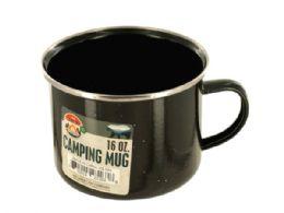 36 Units of 16 oz. Enamel Camping Mug - Camping Gear