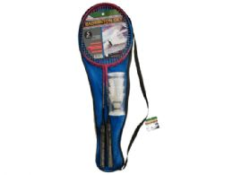 12 Units of Badminton Set With Carry Bag - Sports Toys