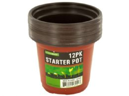 72 Units of Small Garden Starter Pots - Garden Planters and Pots