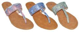 24 Units of WOMEN'S ASSORTED COLOR SANDALS - Women's Flip Flops